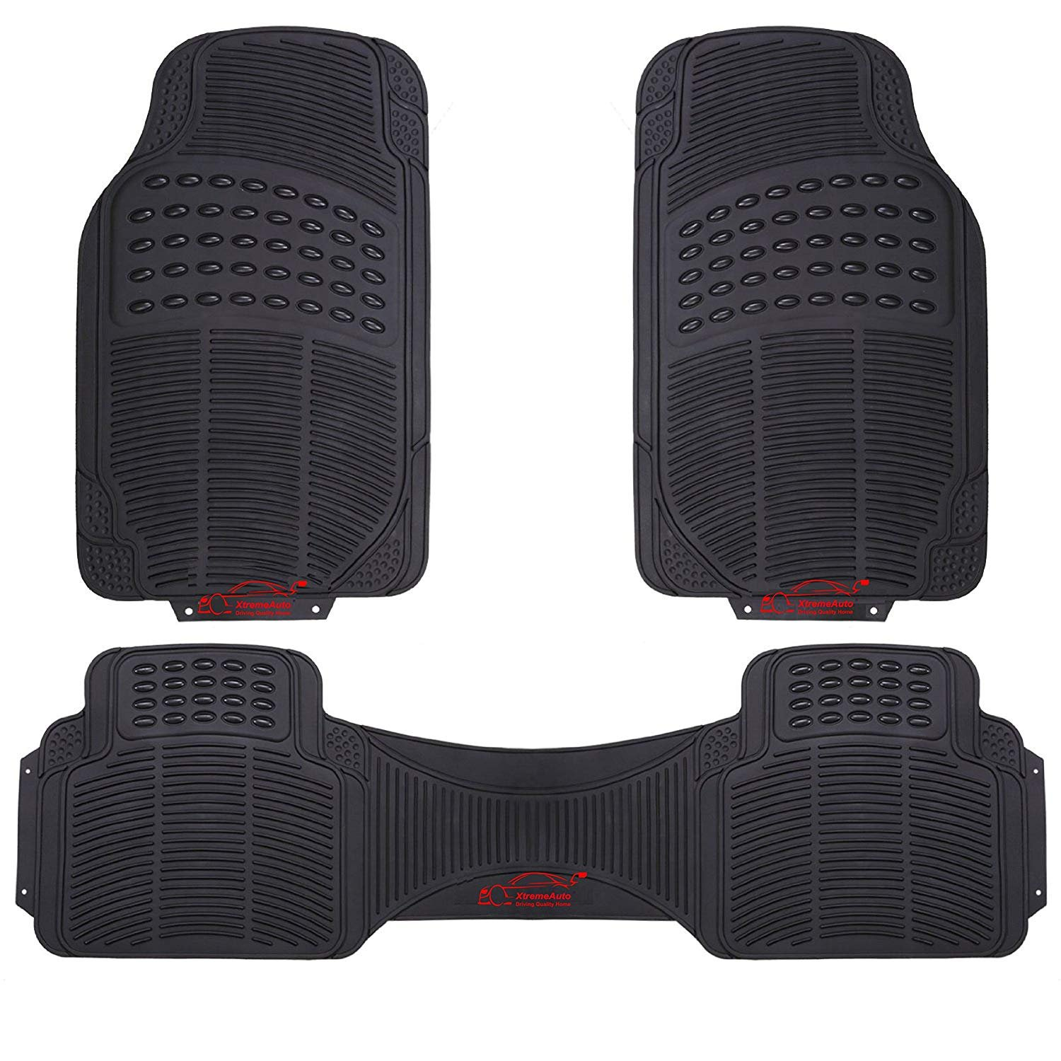 The Best Rubber Car Heavy Duty Universal Waterproof Boot Liner Rear Car Back Seat Protector Mats Fit For Volvo Xc90 2017 2018 Automobiles & Motorcycles
