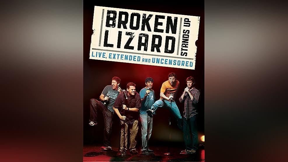 Broken Lizard Stands Up