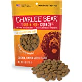 Charlee Bear 131301 Grain-Free Bear Crunch Chicken, Pumpkin and Apple Flavor, 8 oz.