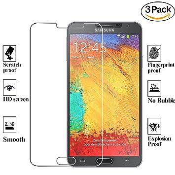 ZEEREE [3 Unidades] para Samsung Galaxy Note 3, Dureza de Grado 9H ...