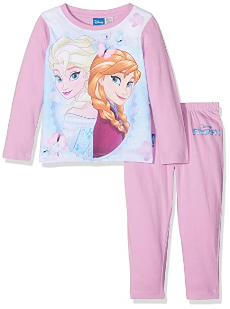autentico 32b5c 0b47c Disney Elsa And Anna Frozen Character, Pigiama Bambina ...