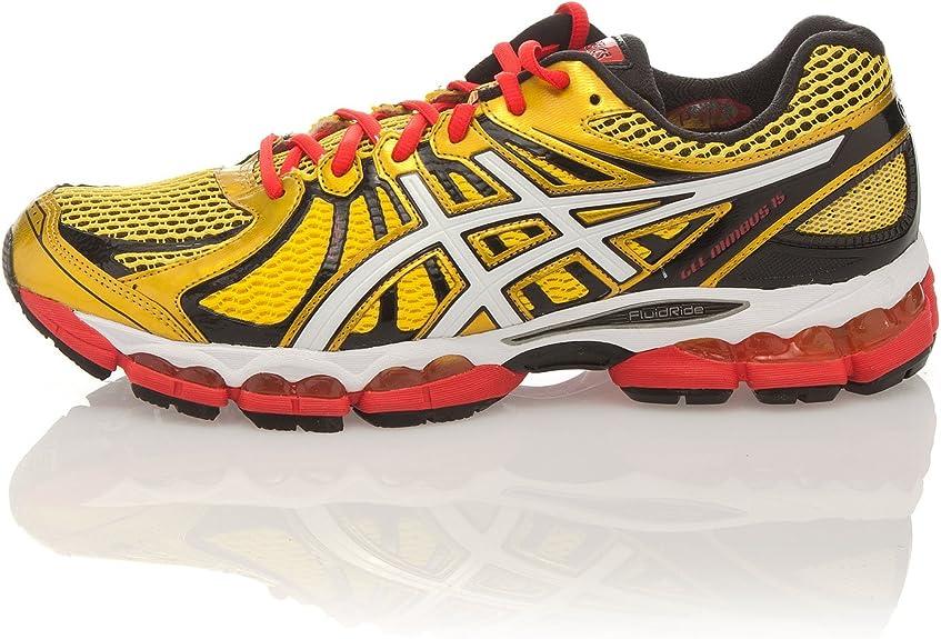 Asics Zapatillas Running Gel Nimbus 15 Amarillo EU 47 (US 12.5): Amazon.es: Zapatos y complementos