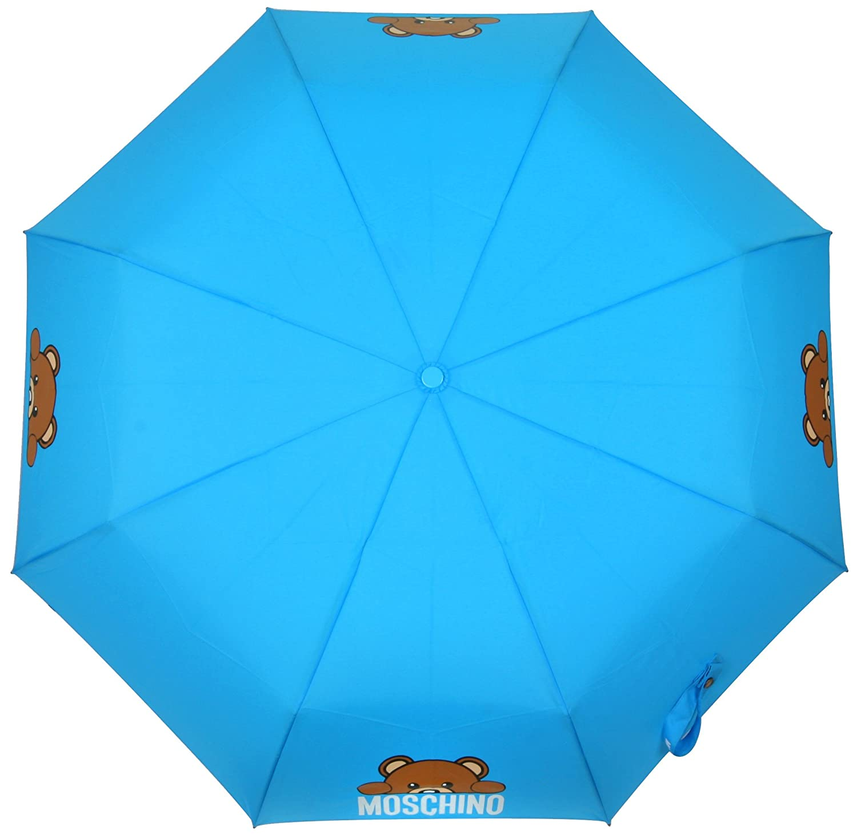 Moschino - Plegable Mujer azul azul claro: Amazon.es: Zapatos y complementos