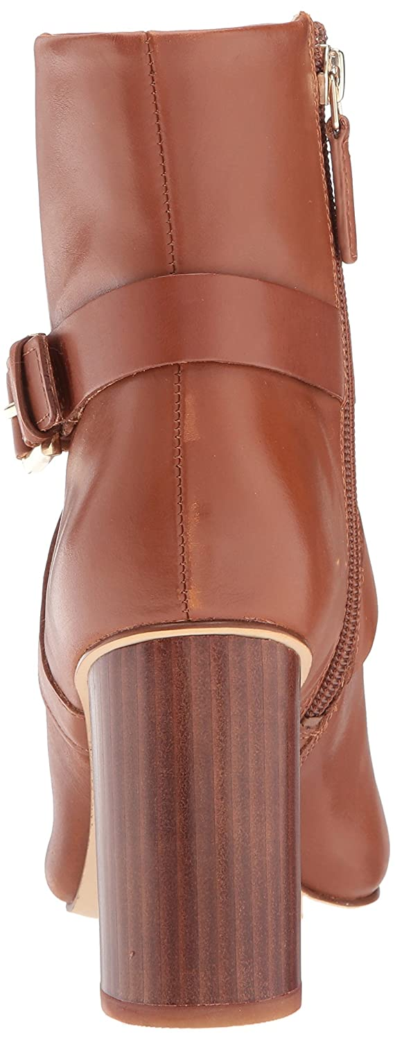 Nine West Women's Cavanagh Ankle Boot B06WLKX4MQ 8.5 B(M) US|Dark Natural Leather