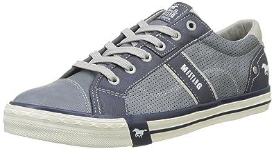 Mustang 4072-301-875, Sneakers Basses Homme, Bleu (Sky 875), 40 EU