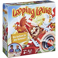 Looping Louie Kinderspiel, lustiges 3D Spiel, Partyspiel für Kindergeburtstage, unterhaltsames Gesellschafts- & Familienspiel, für Kinder & Erwachsene, 2-4 Spieler, ab 4 Jahren