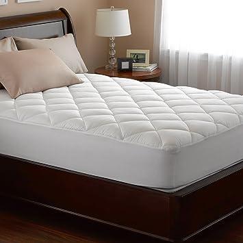 spring air mattress pad Amazon.  Spring Air 76059 Hypoallergenic Cotton Cover Illuna  spring air mattress pad