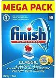Finish Classic Pastiglie Lavastoviglie, Limone, 90 Tabs