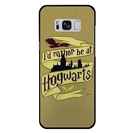 EJC Avenue - Carcasa rígida de plástico para Samsung Galaxy Harry Potter ID Rather Be Samsung Galaxy S8 Plus (G955)