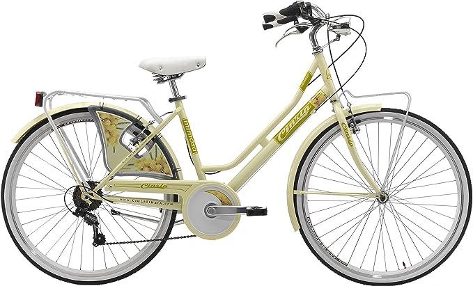 Cinzia Flower - Bicicleta holandesa para mujer (26