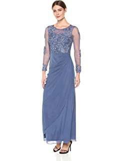 Decode 1.8 Womens Cap Sleeve Lace with Nude Lining and Train