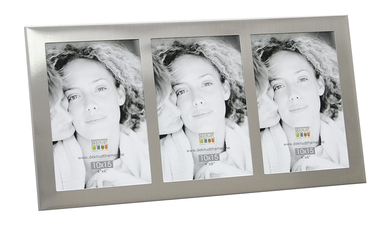 Deknudt Frames S65RP3 6 x 9 deco grigio argento metallo