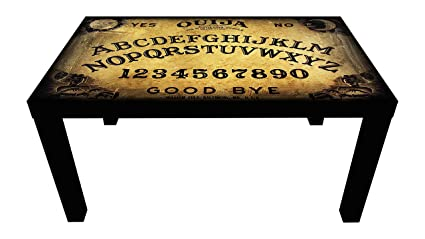 Probest Ouija Coffee Table, Retro Coffee Table, Coffee Table, Pine Wood Coffee  Table