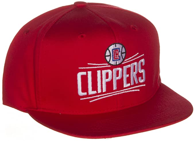 Adidas Los Angeles Clippers Re-Designed Logo Flat Bill Vissor Snapback Hat  Cap Snap Back ceb5fe90a97b
