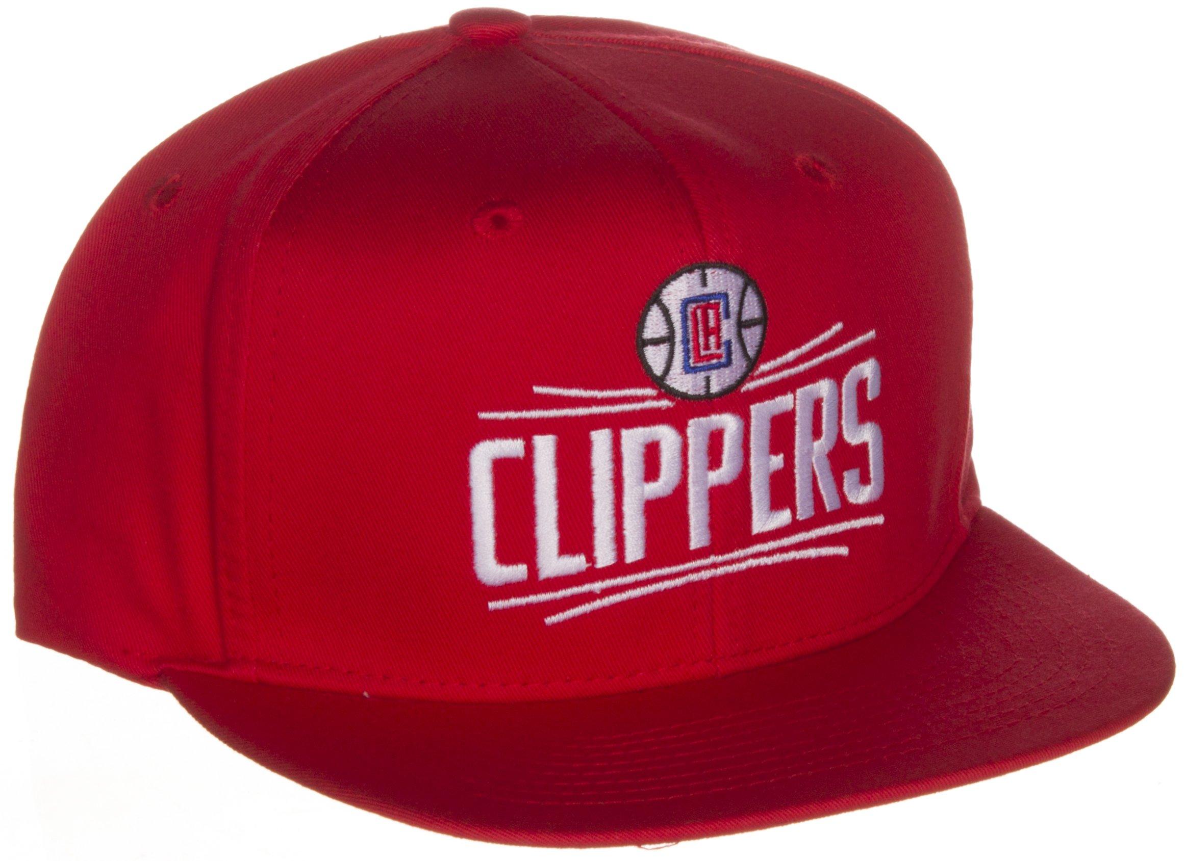 c47c5342fa19f ... switzerland adidas los angeles clippers re designed logo flat visor snapback  hat cap snap back 2a797 ...