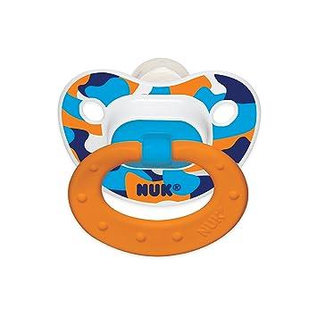 Amazon.com: NUK Chupete ortopédico de 2 hilos TrendLine ...