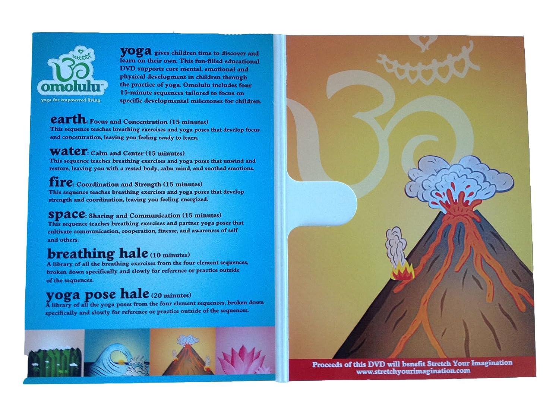 Amazon com: Omolulu - Yoga for Children DVD   Kids Yoga DVD