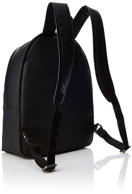 4b3f27fad Amazon.com: Calvin Klein Elevated Mix Round Backpack, Men's Black, 14x45x30  cm (B x H T): Shoes