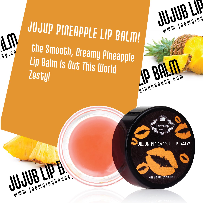 Pineapple Lightening Lip Treatment - Rich Shea Butter Lip Balm, Goes on Clear, Softens, Hydrates, Nourishes & Lightens Dark Lips - Net 0.33 Oz (10 g.)