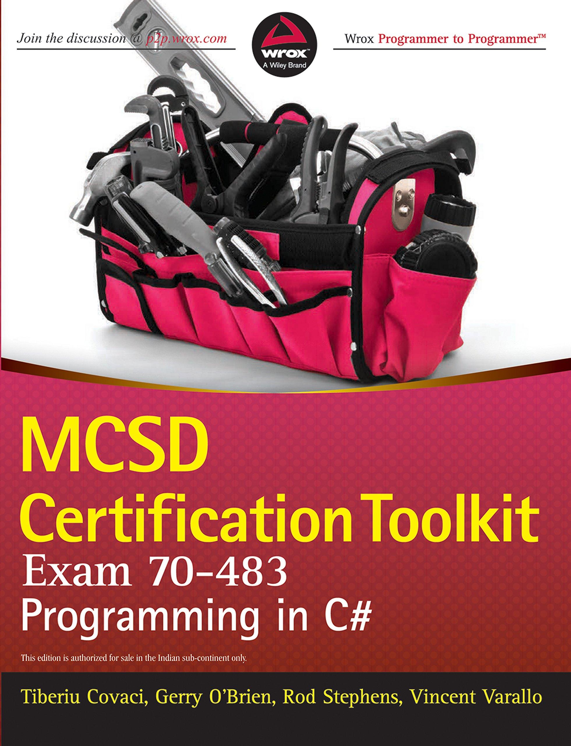 Buy Mcsd Certification Toolkit Exam 70483 Programming In C Wrox