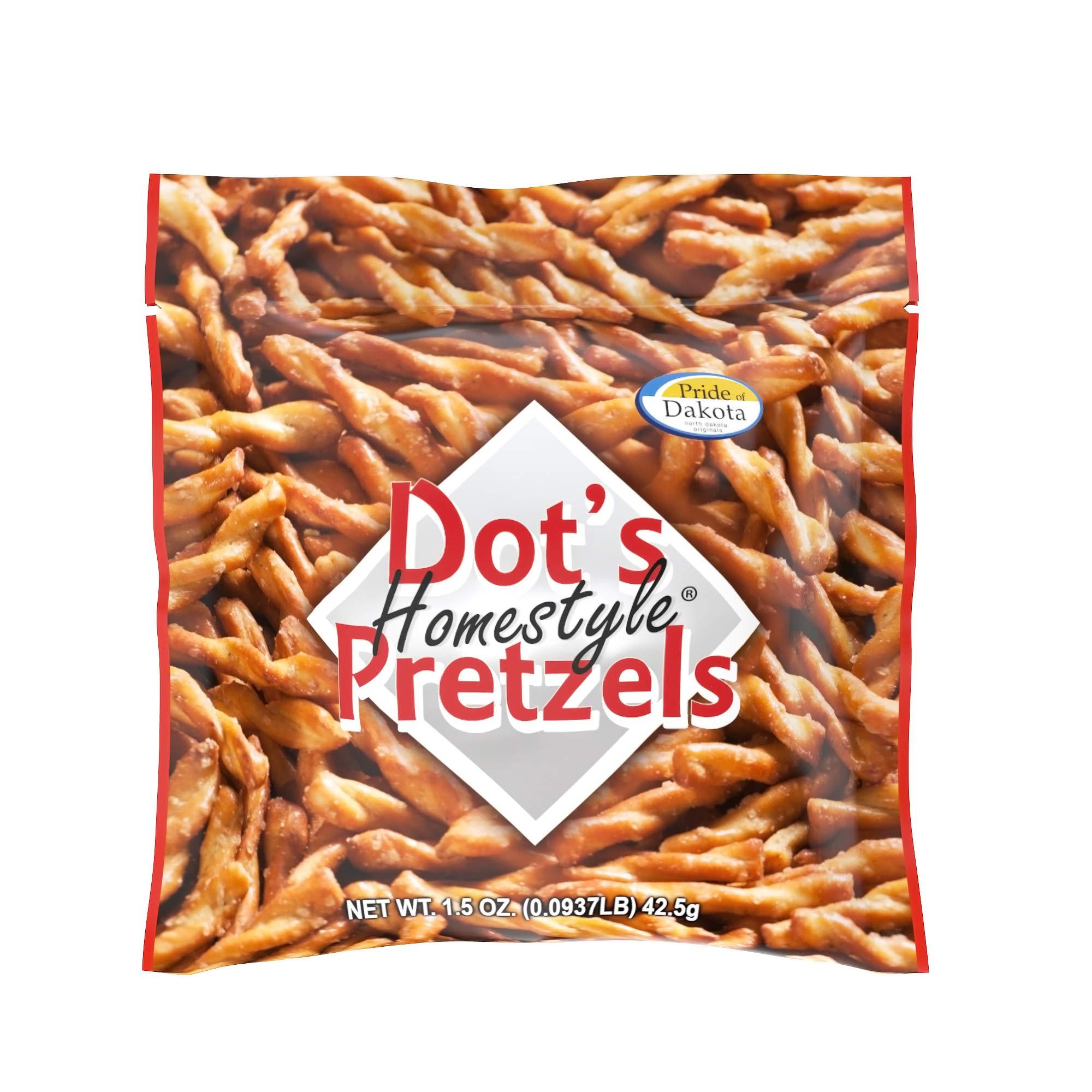 Dot's Homestyle Pretzels 1.5 oz. Bags (20 Pack) Lunchbox Sized Seasoned Pretzel Snack Sticks by Dot's Homestyle Pretzels