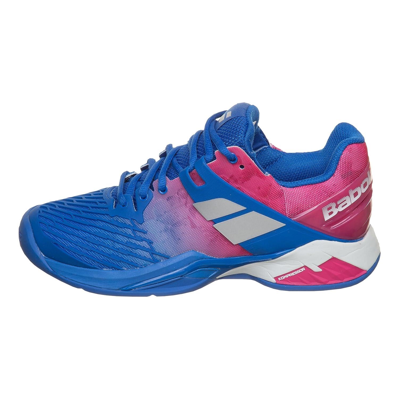 Babolat Damen Propulse Fury Clay Tennisschuhe Sandplatzschuh Blau - - - Pink 36,5 - c63ef0