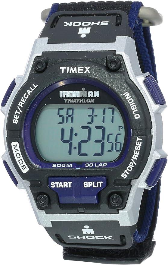 Timex Le Casual numérique Ironman Triathlon Homme Quartz Nwt