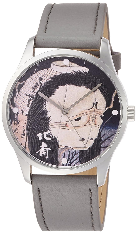 [葛飾北斎]Katsushika hokusai お岩さん 腕時計 hk-oiwa B01ISU0W4C