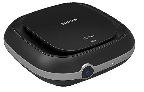 5. Philips GoPure Compact 100 Airmax Car Air Purifier (Black