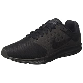 Nike Men's Downshifter 7 Running Shoe Black/Metallic Hematite/Anthracite Size 10.5 M US