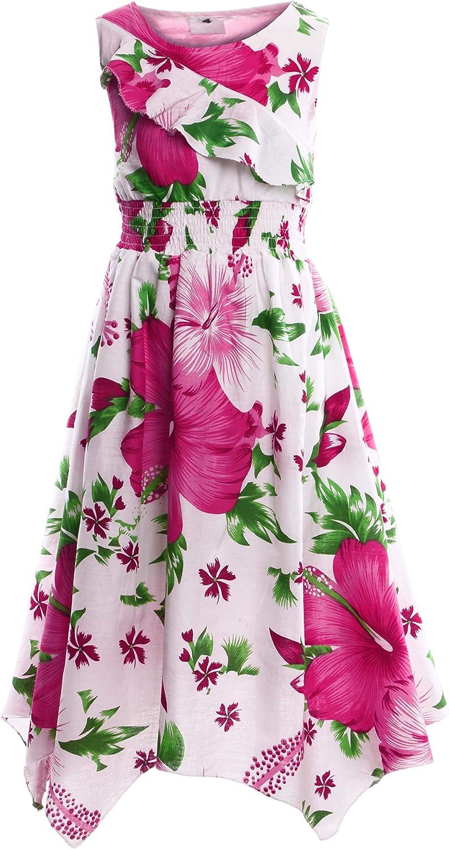 Gilsonz NeuPK702vDa Vestido de Verano para ni/ña