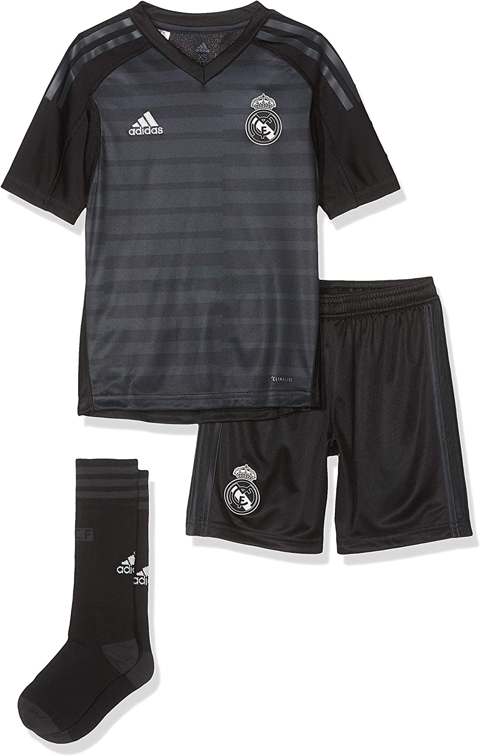 adidas 18/19 Real Madrid Away Kit - Lfp Badge - Conjunto Unisex niños