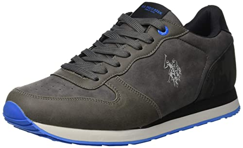 USPOLO ASSN. Herren Sheridan2 Club Sneaker, Light Gray, 40 EU