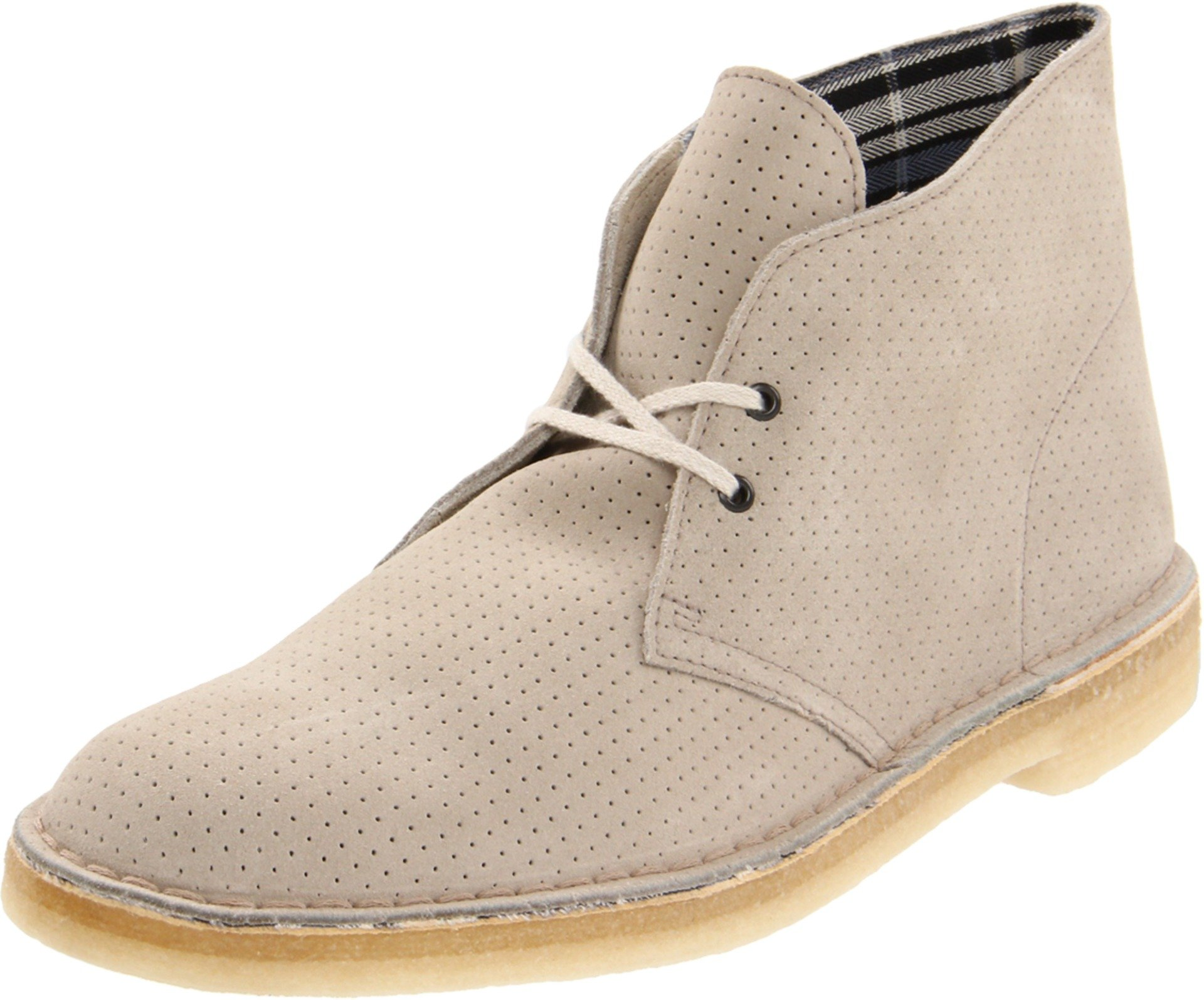 8 Boot Clarks Khaki Leather Men's Desert 3qjAc5RLS4