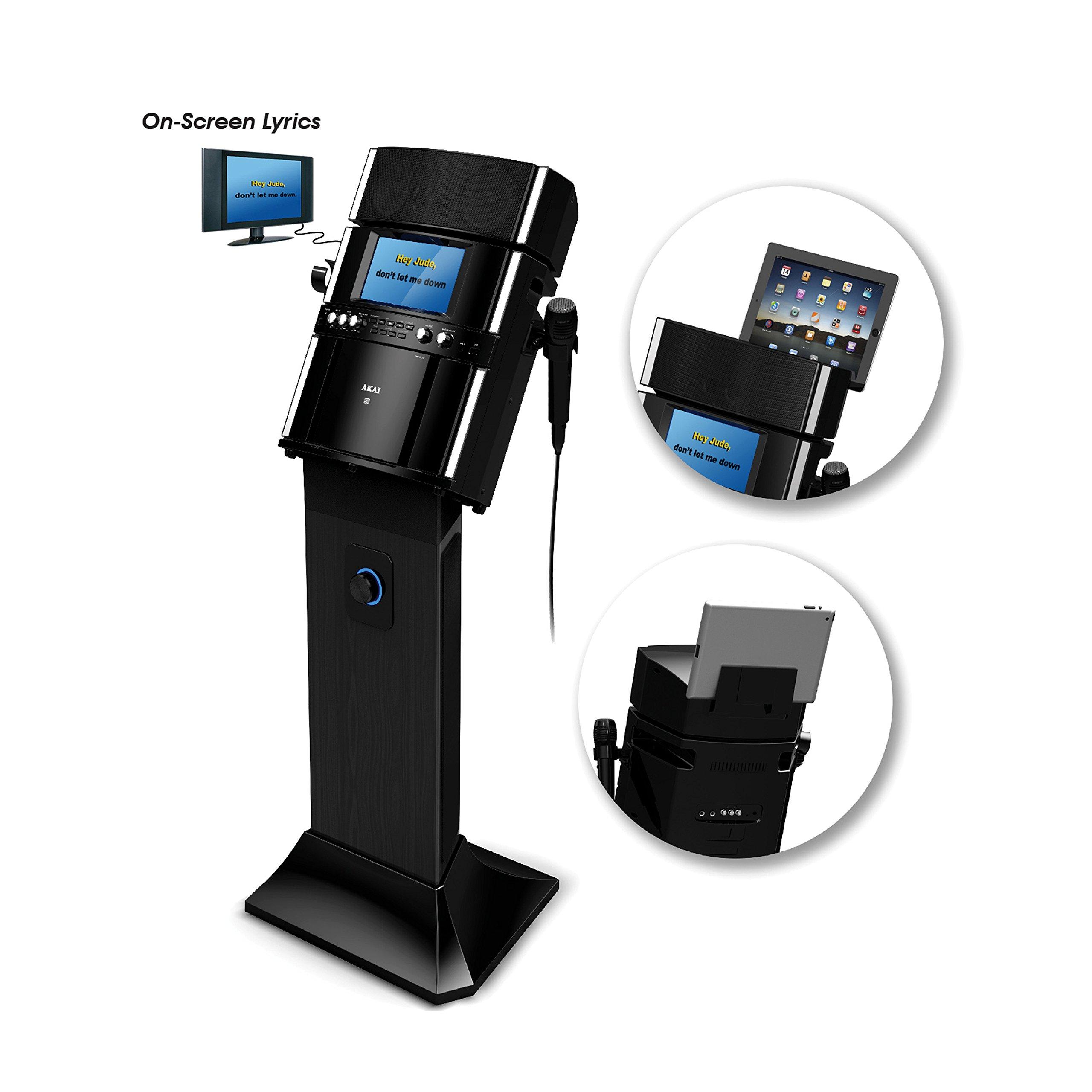Akai KS808 CD&G/MP3&G Karaoke System with USB Recording