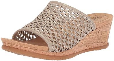 97448dec313 Amazon.com  BareTraps Women s Flossey Slide Sandal  Shoes