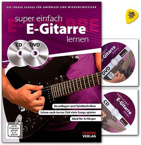 Super Fácil S de aprendizaje Guitarra – La Escuela Ideal para ...