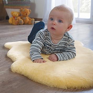 Lammfell Heitmann Baby 70-80cm Geschoren Schaffell Babyfell Babylammfell Fell