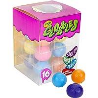 4 x 60 mm HAUTE Bounce Balle Caoutchouc Fluo Tourbillon Gonflable Jouet Sensoriel jeu