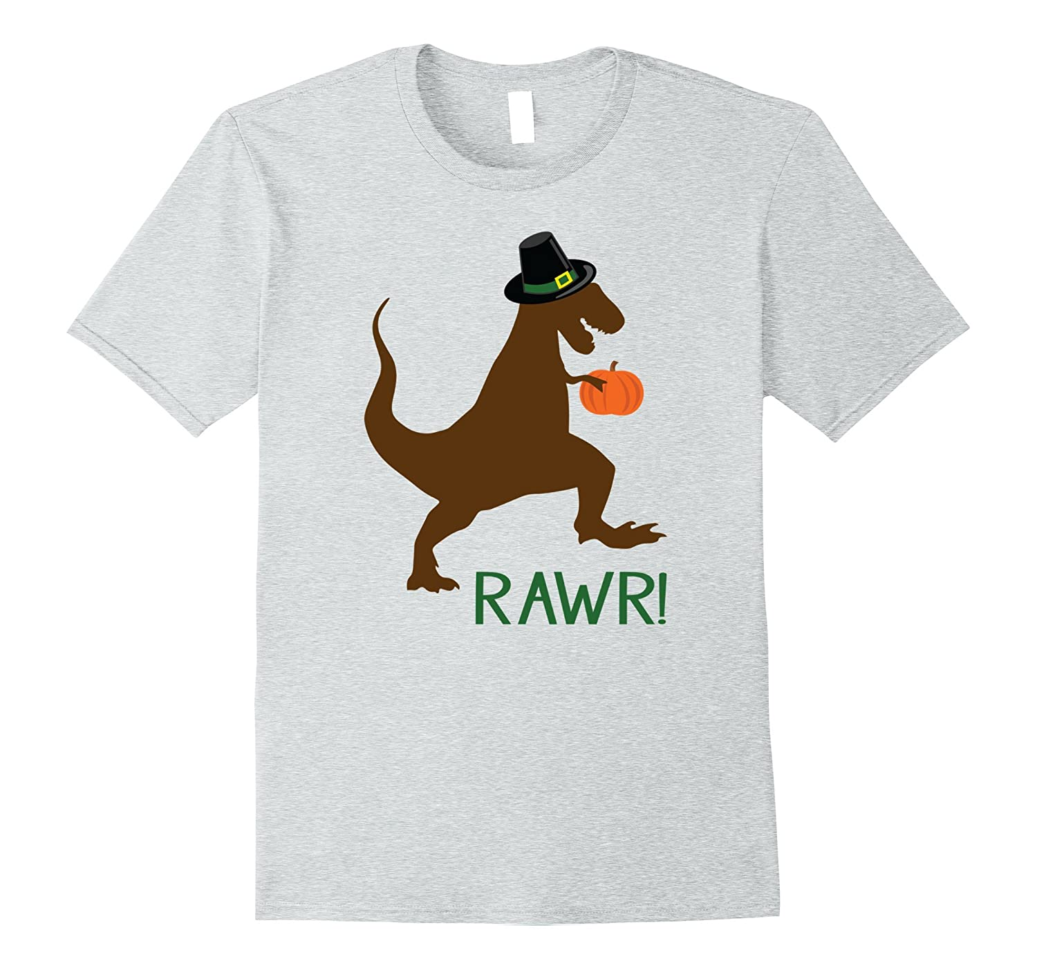 Dinosaur Thanksgiving T-Shirt, Funny Thanksgiving Outfit-ANZ