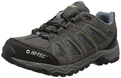 Hi-Tec Men Signal Hill Waterproof Multisport Shoes, Grey (Dk Gull Grey/