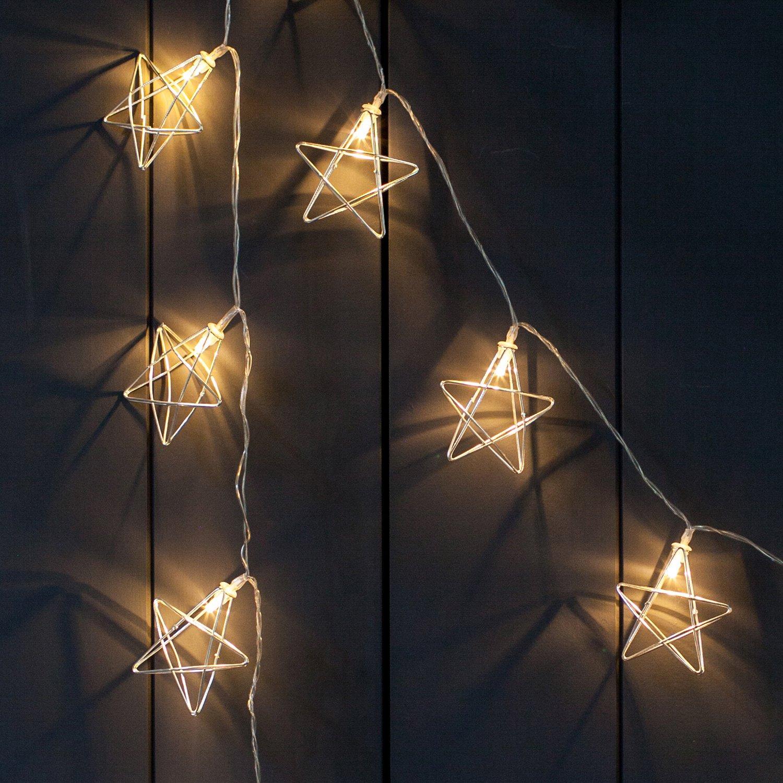 Wunderbar Brauner Draht Führte Weihnachtsbeleuchtung Zeitgenössisch ...