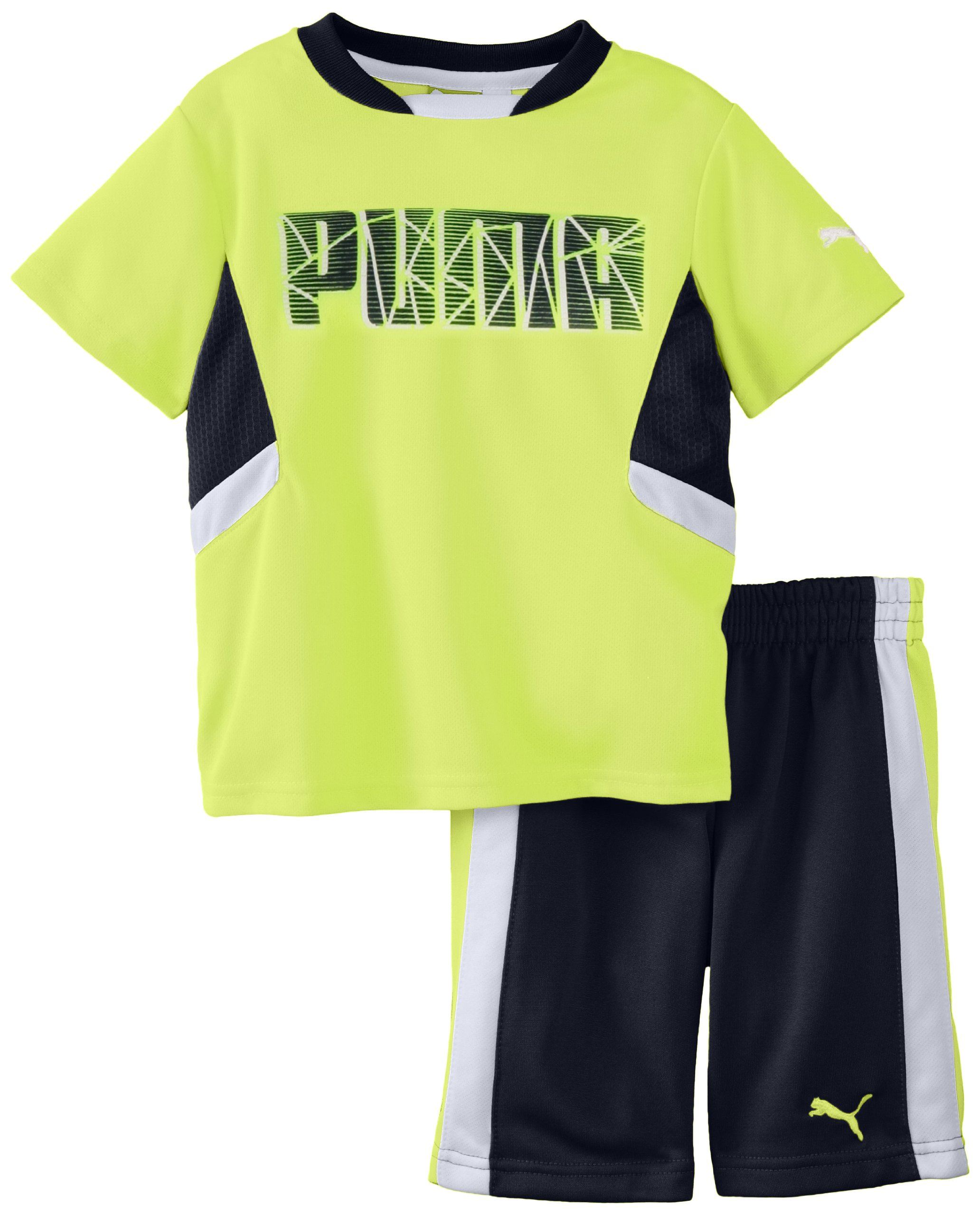 PUMA Little Boys' Toddler Shatter Set, Safety Yellow, 2T by PUMA