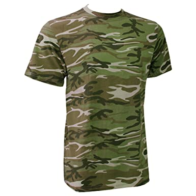 27d82f92c25bc3 Anvil Mens Heavy Camouflage Tee T-Shirt