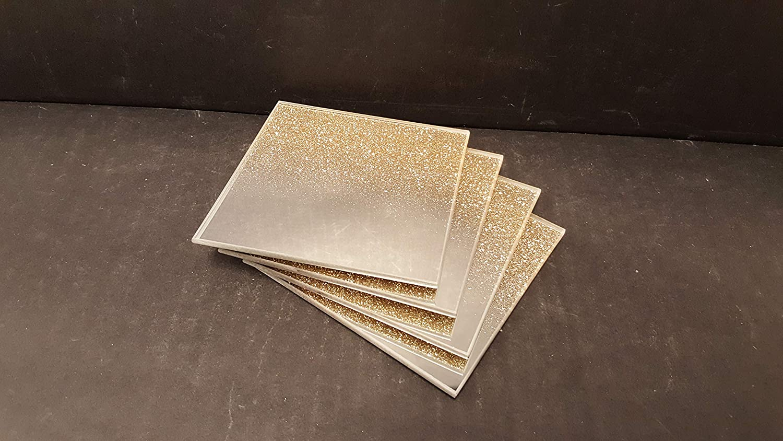 Gold Glitter Light Pull Sparkle Resin NEW Contemporary