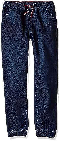 2b782566a2dd Tommy Hilfiger Adaptive Boys  Big Jogger Pants Slim Straight Fit with  Elastic Waist