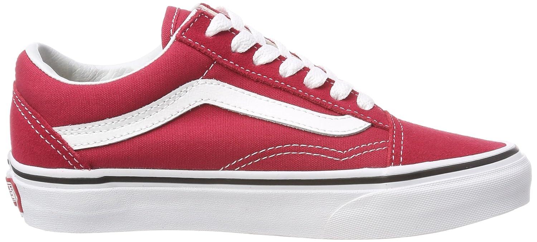 Vans Unisex Old Skool 12|Crimson/True Classic Skate Shoes B074H98Q7W Boys/Mens 12|Crimson/True Skool White 83e2c1