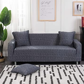 Amazoncom iisutas Stretch Couch Covers Sofa Slipcovers Fitted