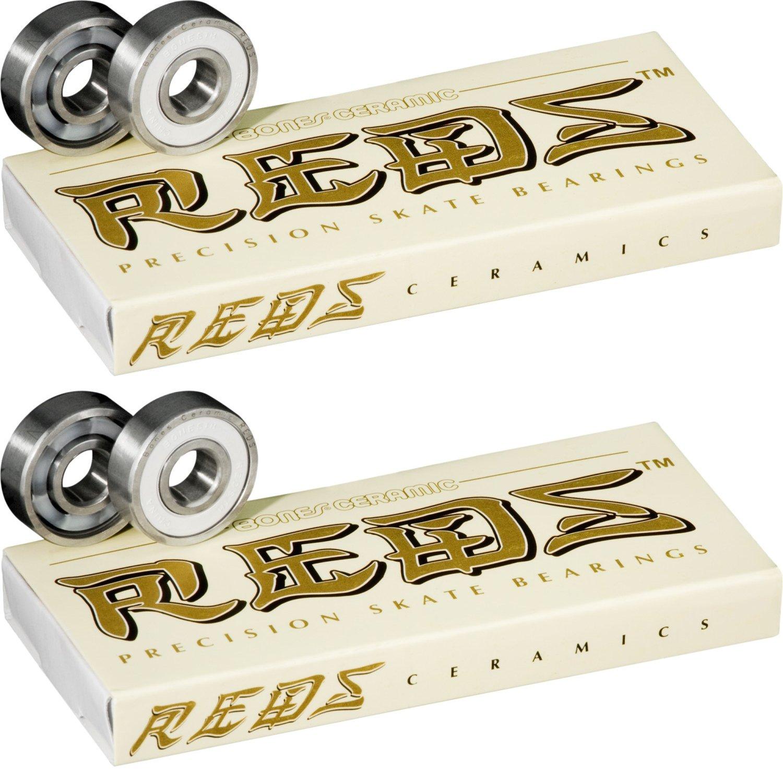 Bones Bearings Roller Derby Skate Bearings for Quad Speed Skates