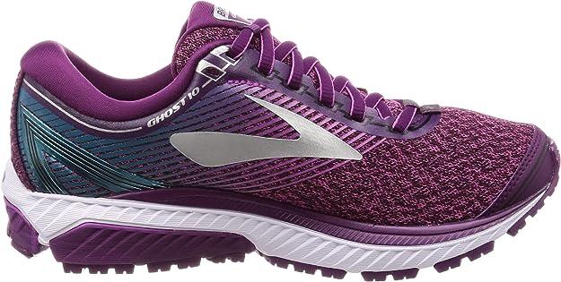 Brooks Ghost 10, Zapatillas de Running para Mujer, Morado (Purple/Pink/Teal 1b511), 38 EU: Amazon.es: Zapatos y complementos
